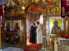 28 Епископ Максим служио Св. Литургију у Манастиру Тврдош
