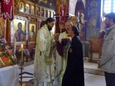 33 Епископ Максим служио Св. Литургију у Манастиру Тврдош