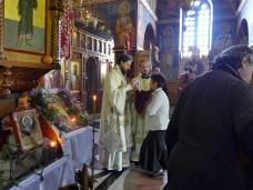 35 Епископ Максим служио Св. Литургију у Манастиру Тврдош