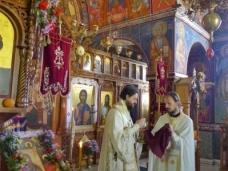 36 Епископ Максим служио Св. Литургију у Манастиру Тврдош
