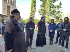 45 Епископ Максим служио Св. Литургију у Манастиру Тврдош