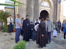 46 Епископ Максим служио Св. Литургију у Манастиру Тврдош