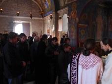 12 Празник Богојављења свечано је прослављен у Манастиру Тврдош