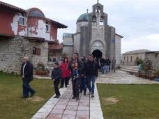 14 Празник Богојављења свечано је прослављен у Манастиру Тврдош