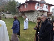 16 Празник Богојављења свечано је прослављен у Манастиру Тврдош