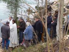 24 Празник Богојављења свечано је прослављен у Манастиру Тврдош