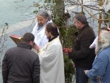 25 Празник Богојављења свечано је прослављен у Манастиру Тврдош