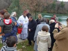 43 Празник Богојављења свечано је прослављен у Манастиру Тврдош