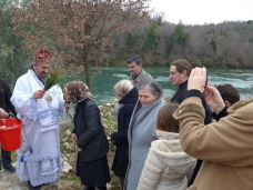 44 Празник Богојављења свечано је прослављен у Манастиру Тврдош