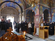 14 Аранђеловдан у Манастиру Тврдош