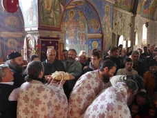 25 Аранђеловдан у Манастиру Тврдош