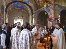28 Аранђеловдан у Манастиру Тврдош