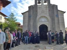 38 Аранђеловдан у Манастиру Тврдош