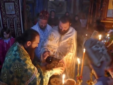 13 Аранђеловдан у Манастиру Тврдош
