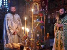 17 Аранђеловдан у Манастиру Тврдош