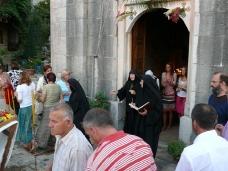 8 Претпразничко вечерње у Манастиру Тврдош