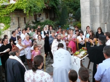 13 Претпразничко вечерње у Манастиру Тврдош
