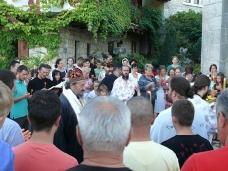 15 Претпразничко вечерње у Манастиру Тврдош