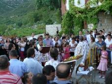 21 Претпразничко вечерње у Манастиру Тврдош