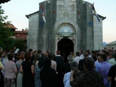 22 Претпразничко вечерње у Манастиру Тврдош