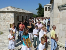 41 Празник Успења Пресвете Богородице - слава Манастира Тврдош
