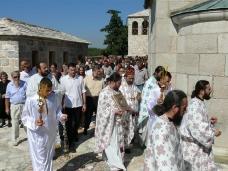 40 Празник Успења Пресвете Богородице - слава Манастира Тврдош