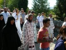 25 Празник Успења Пресвете Богородице - слава Манастира Тврдош
