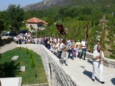19 Празник Успења Пресвете Богородице - слава Манастира Тврдош