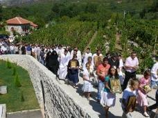 18 Празник Успења Пресвете Богородице - слава Манастира Тврдош
