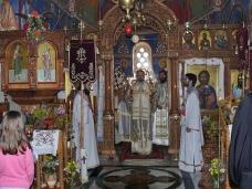 4 Архијерејска Литургија у Манастиру Тврдош