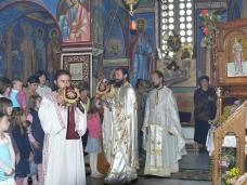 12 Архијерејска Литургија у Манастиру Тврдош