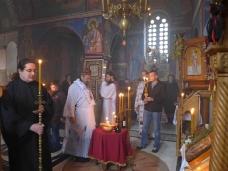 5 Света Литургија у Манастиру Тврдош на дан Великих или Васкршњих задушница