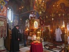 7 Света Литургија у Манастиру Тврдош на дан Великих или Васкршњих задушница