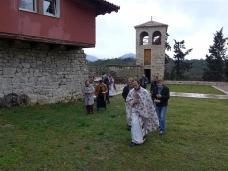 9 Света Литургија у Манастиру Тврдош на дан Великих или Васкршњих задушница