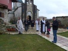 10 Света Литургија у Манастиру Тврдош на дан Великих или Васкршњих задушница