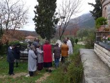 12 Света Литургија у Манастиру Тврдош на дан Великих или Васкршњих задушница