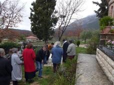 13 Света Литургија у Манастиру Тврдош на дан Великих или Васкршњих задушница