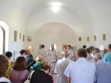 3 Св. Арх. Литургија у селу Запланику