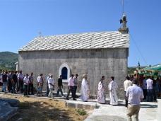12 Св. Арх. Литургија у селу Запланику