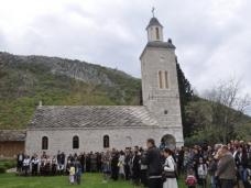 13 Благовештење слава Манастира Житомислић